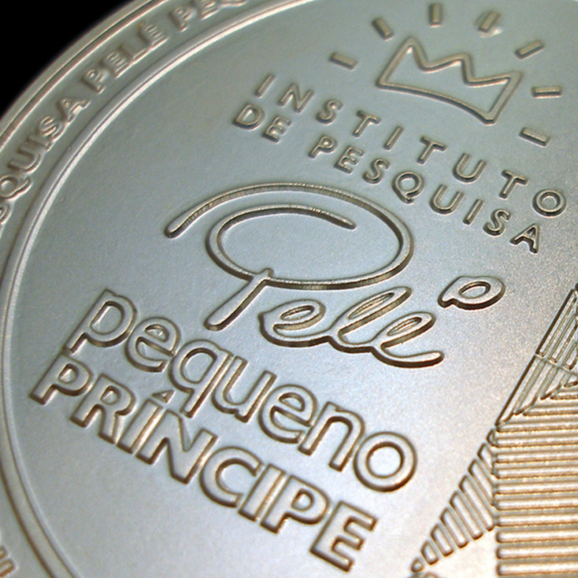 Hospital Pequeno Principe Medalha Pele
